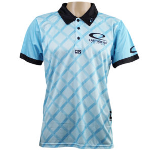 Latitude 64° Polo Fence Blue
