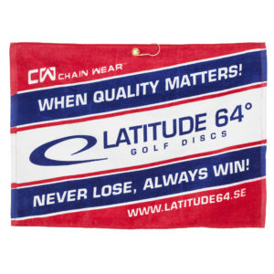 Latitude 64° Towel Red/White/Blue