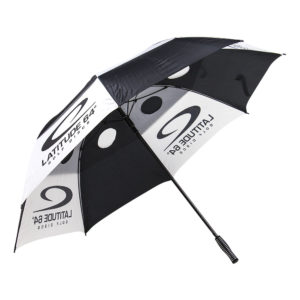 Latitude 64° Windbuster Umbrella Black