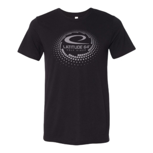 Latitude 64° T-shirt Swirl Black