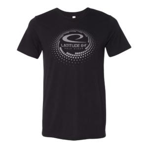 Latitude 64° T-shirt Swirl Black