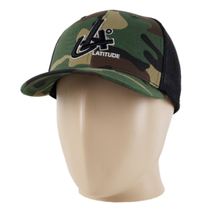 Latitude 64° Cap Flexfit Degrees Camo/Black