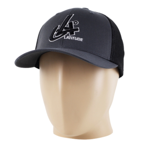 Latitude 64° Cap Flexfit Degrees Charcoal/Black
