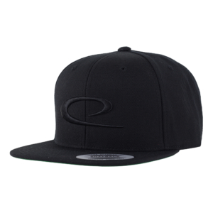 Latitude 64° Cap Snapback Big Swoosh Black