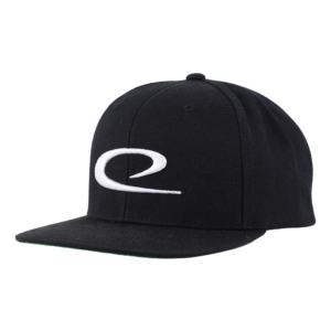 Latitude 64° Cap Snapback Big Swoosh Black/White
