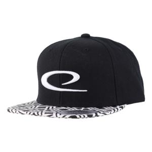 Latitude 64° Cap Snapback Big Swoosh Black/White Pattern