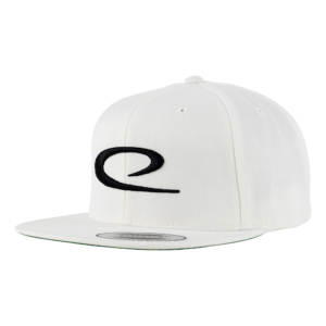 Latitude 64° Cap Snapback Big Swoosh White/Black