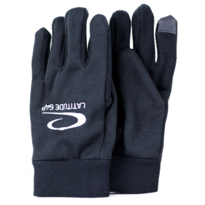 Latitude 64° Fleece Glove Black