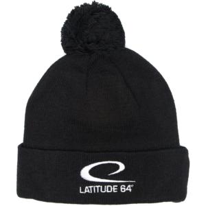 Latitude 64° Beanie Pom Black