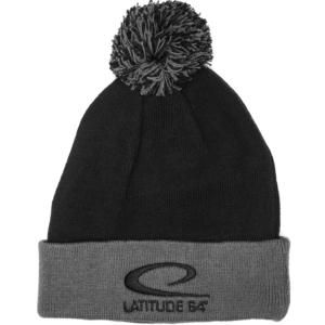 Latitude 64° Beanie Pom Black/Graphite
