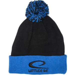 Latitude 64° Beanie Pom Black/Blue