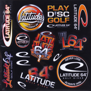 Latitude 64° Sticker Sheet