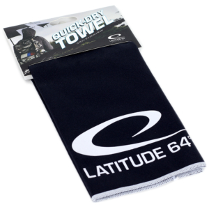 Latitude 64° Quick-Dry Towel Black