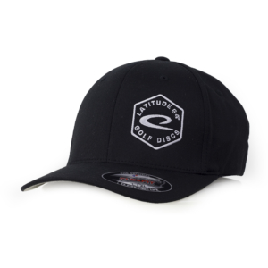 Latitude 64° Cap Flexfit Hex Logo Black