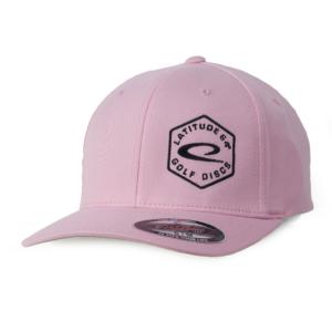 Latitude 64° Cap Flexfit Hex Logo Light Pink