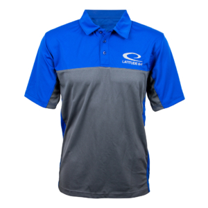 Latitude 64° Polo Runner Royal Blue/Gray