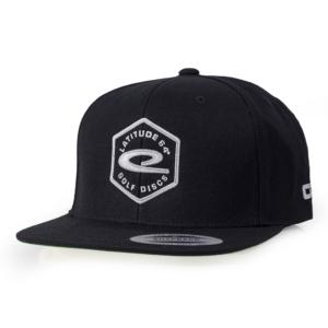 Latitude 64° Cap Snapback Hex Logo Black