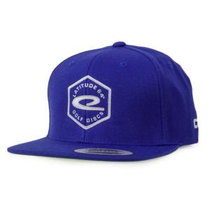 Latitude 64° Cap Snapback Hex Logo Blue