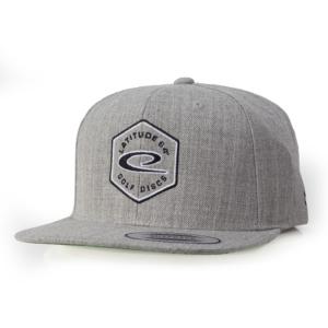 Latitude 64° Cap Snapback Hex Logo Gray