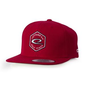 Latitude 64° Cap Snapback Hex Logo Red
