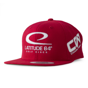 Latitude 64° Cap Snapback Red