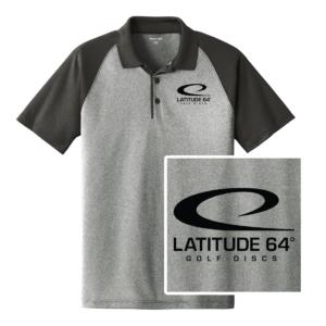 Latitude 64° Polo Swoosh Heather Gray/Black