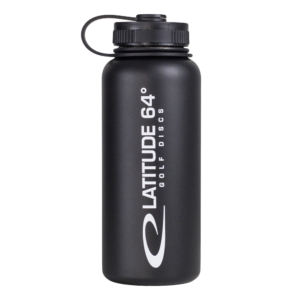 Latitude 64° Steel Bottle Black