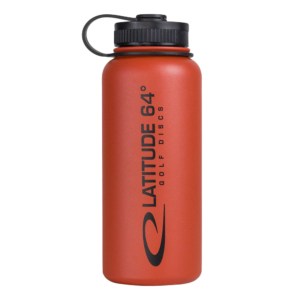 Latitude 64° Steel Bottle Red