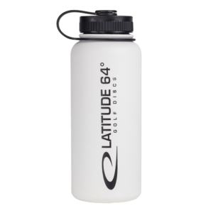 Latitude 64° Steel Bottle White