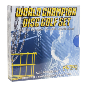 World Champion Disc Golf Set Retro Line